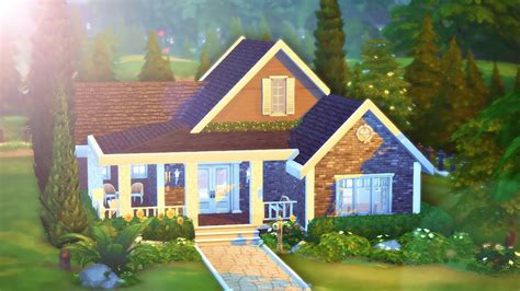The Sims 4 Speed Build Sisters Home Youtube