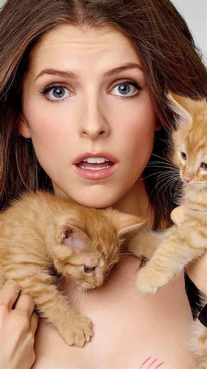 Anna Kendrick Cats Models Kittens Actress Kitty
