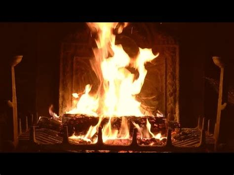 virtual fireplace  crackling fire sounds full hd