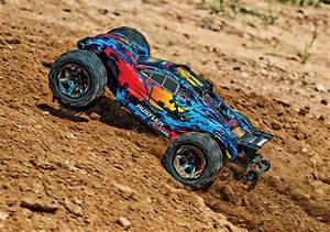 Traxxas New 65+ mph 4WD Rustler 4X4 VXL #67076-4 – Team