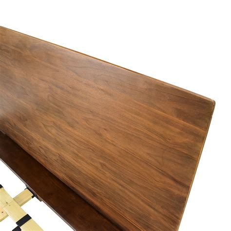 Size Wood Bed Frame by 86 Size Brown Wood Bed Frame Beds