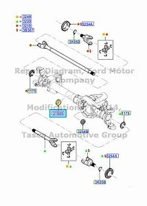 Brand New Oem Front Axle Guide Ford F250 F350 F450 F550 Sd