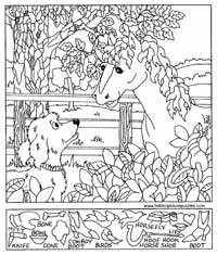 Free Printable Hidden Pictures for Kids   All Kids Network