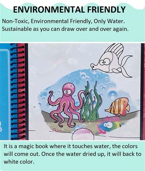 baby care magic water drawing colouring book  pages
