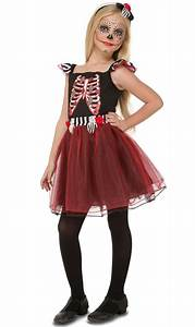 Disfraz de Esqueleto rojo para infantil