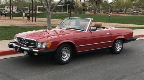 Auction lot t23, anaheim, ca 2016. 1982 Mercedes-Benz 380SL Convertible | T3.7 | Phoenix • Glendale 2019