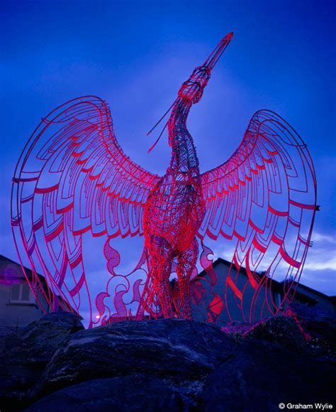 andy scott sculpture phoenix