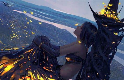 wlop fantasy art wallpapers hd desktop  mobile