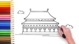 draw forbidden city  images fun learning