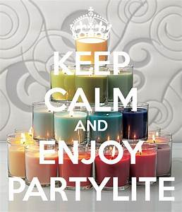 Partylite Co Uk : keep calm and enjoy partylite poster melbarwise keep calm o matic ~ Markanthonyermac.com Haus und Dekorationen