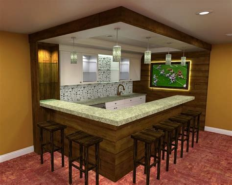 Simple Bar Ideas by 34 Awesome Basement Bar Ideas And How To Make It With Low