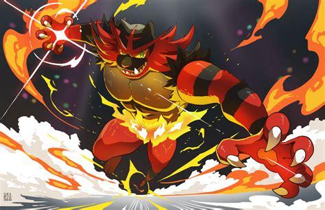incineroar enters  ring