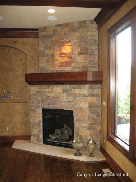 stone fireplace ideas images  pinterest