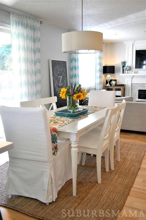lighten up dinner time with these white dining room tables