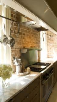 backsplashes in kitchen brick backsplashes rustic and of charm