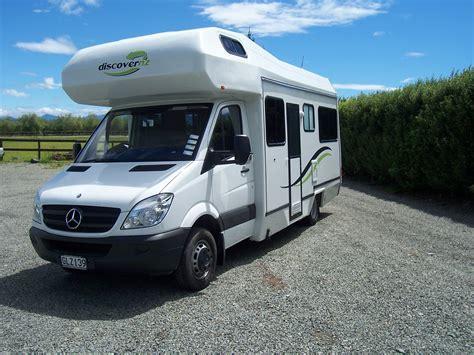 Discover NZ Motorhome Rentals   4 2 Berth Mercedes Benz