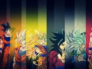 Goku Evolution HD Wallpaper
