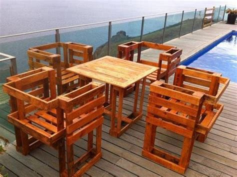 diy outdoor pallet furniture plans creative diy outdoor pallet furniture ideas pallet wood 47242