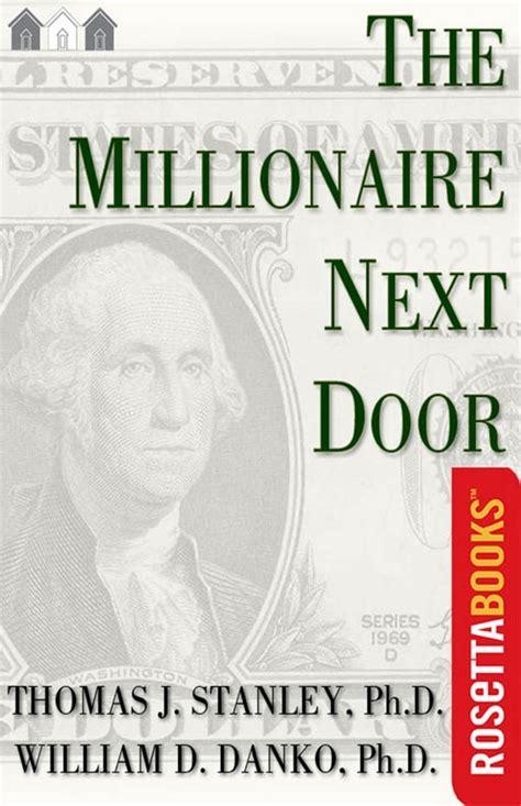 millionaire  door  thomas stanley bestseller