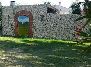 mon jardin fleuri des peintures sur des murs en trompe l39oeil With trompe l oeil exterieur jardin 7 habiller les murs de son jardin