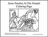 Jesus Coloring Temple Teaches Bible Crafts Pages God Synagogue Word Sunday Map Teaching Drawing Teachings Activities Craftingthewordofgod Lessons Crafting Lds sketch template