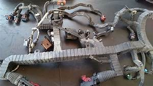 Used Wiring Harness From International Maxxforce 13 Engine