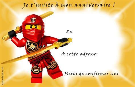 Carte Invitation Anniversaire Garçon