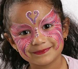 Modele Maquillage Carnaval Facile : grimtout maquillage l 39 eau papillon rose tape 4 maquillage maquillage maquillage ~ Melissatoandfro.com Idées de Décoration