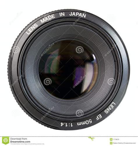 Professional Camera Lens Royaltyfree Stock Photo