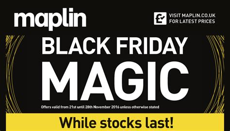 Black Friday 2016 Here Are The Top Maplin Deals On Drones, Speakers, Hard Drives, Cameras And