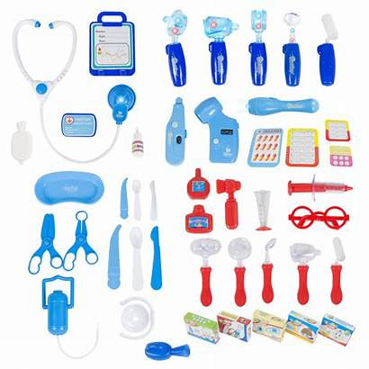 Doctor Names Equipment Medical Play Pretend Clipart
