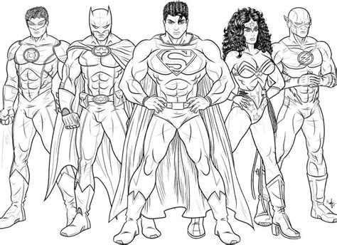 Get This Printable Flash Coloring Pages Online 2x547