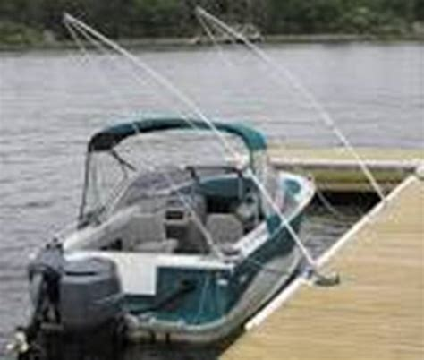 Boat Mooring Whips by Floating Aluminum Dock Accessories Sebago Dock Lift