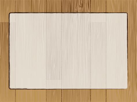 wood template light frame on a wood wall powerpoint templates black border frames brown orange free