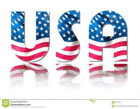 Usa Sign Stock Image