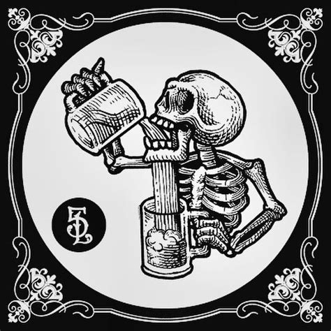 skeleton   drink illustration skull art tattoos