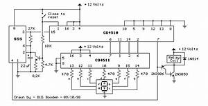 9 second digital readout countdown timer With 555 timer led flasher circuit besides 555 timer relay circuit also 555
