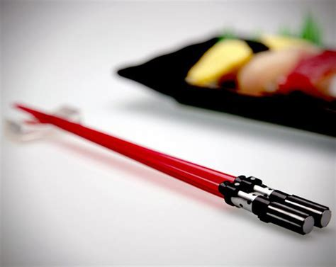 Light Saber Chopsticks by The 50 Greatest Wars Gifts In The Galaxy Hiconsumption