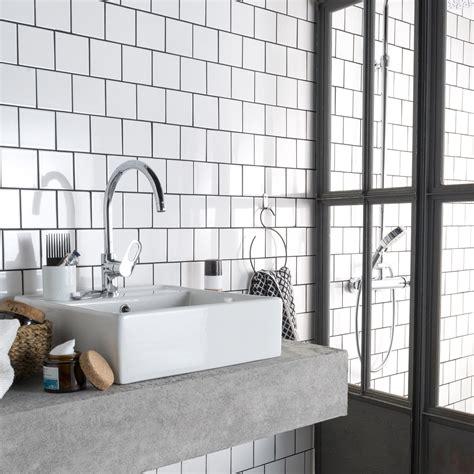faience cuisine 10x10 carrelage salle de bain 10x10 blanc