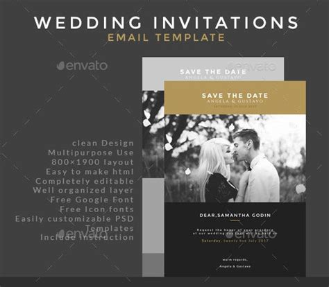 30+ Business Email Invitation Templates PSD Vector EPS