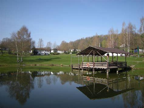 rhoen residence bungalow mit seeblick  dipperz hessen