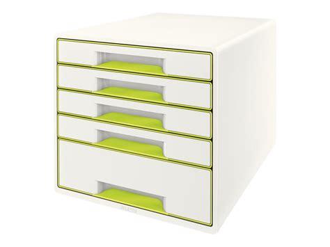 bloc de classement bureau leitz cube bloc de classement à tiroirs modules de