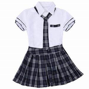 COSPLAY JAPANESE SCHOOL Girl Students Sailor Uniform Sexy ...