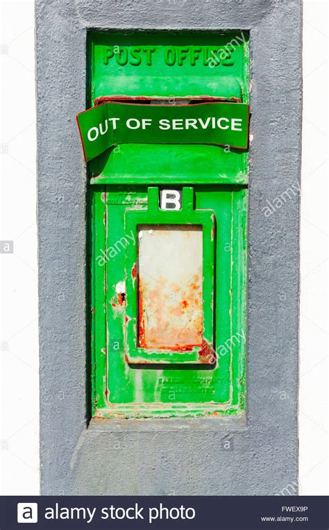 Barnes Green Post Office by Green An Post Postbox With Quot Out Of Service Quot Sign