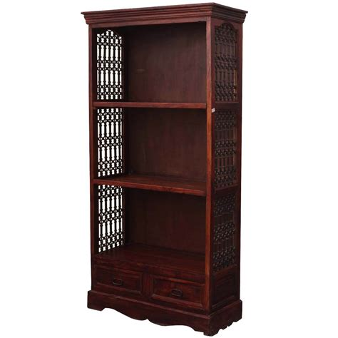 Iron Bookcases by 71 Quot Solid Wood Wrought Iron 3 Shelf Display Single