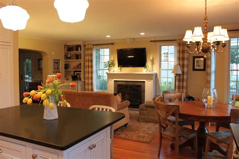 Kitchen Living Room Open Floor Plan Pictures by Houseography Open Floor Plan Connectivity And Some New