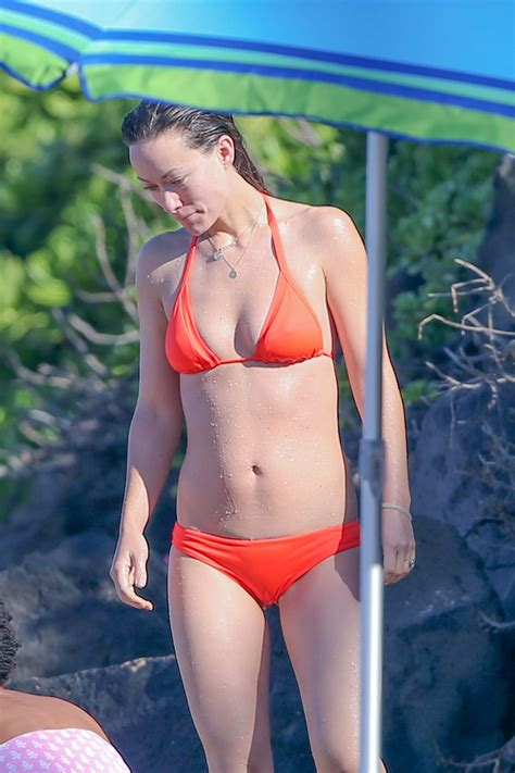 olivia wilde   bikini beach  hawaii