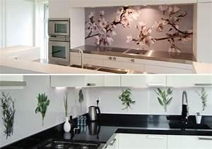Wand Glas Küche : k che gestalten bl ten pflanzen motive wand k chenr ckwand pinterest room and house ~ Sanjose-hotels-ca.com Haus und Dekorationen