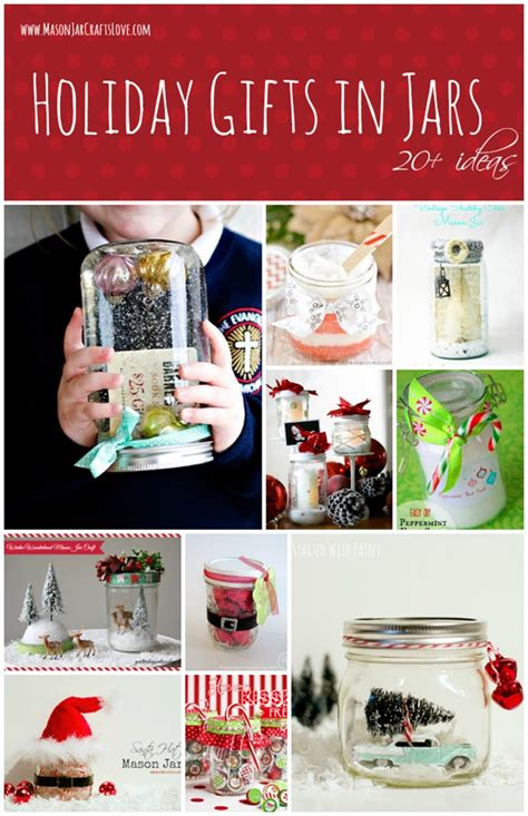 holiday gift ideas in jars mason jar crafts love