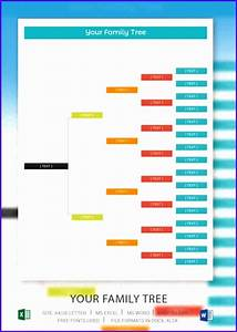 Family Tree Simple Template 12 Excel Template Family Tree Excel Templates Excel